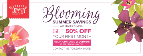 Don't Forget About the Blooming Summer Savings
